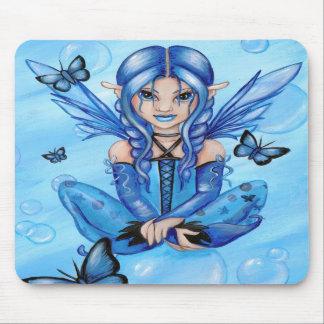 Fée bleue tapis de souris