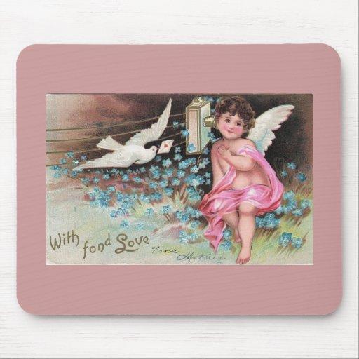 fée d'ange tapis de souris