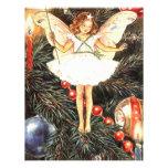 Fée d'arbre de Noël Cartons D'invitation
