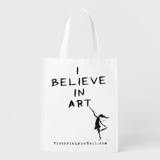 Fée d'art : Je crois en valeur promotionnelle Sac D'épicerie