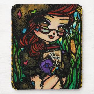 Fée de conte de fées d'épouvantail tapis de souris