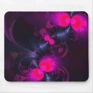 Fée de fleur - se sont levés et les rubans magenta tapis de souris