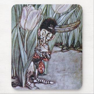 Fée de jardin tapis de souris