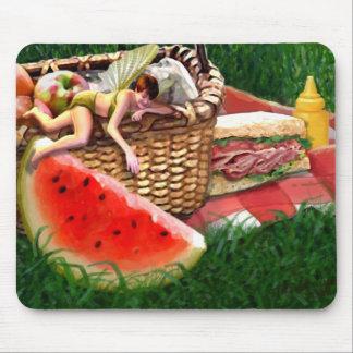 Fée d'été tapis de souris