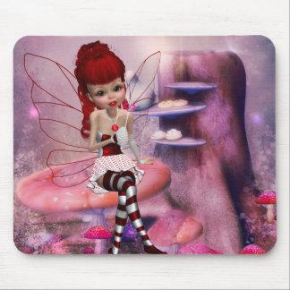 Fée douce Mousepad d'amour Tapis De Souris