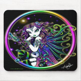 Fée en cristal Mousepad d'arc-en-ciel de Lucida Tapis De Souris