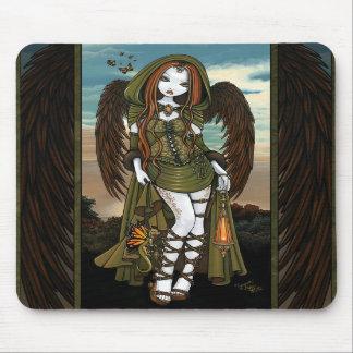 Fée Mousepad d'ange de chasseuse de dragon de Gwyn Tapis De Souris