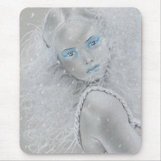 Fée Mousepad de flocon de neige Tapis De Souris