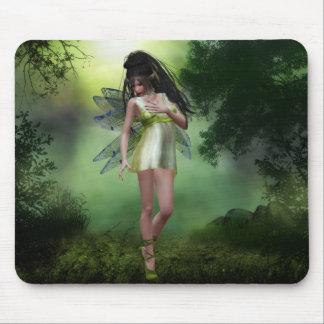 Fée Mousepad de forêt Tapis De Souris
