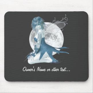 Fée Mousepad de lune Tapis De Souris