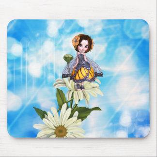 Fée Mousepad de papillon Tapis De Souris