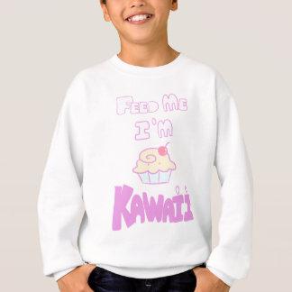 feed kawaii cupcake sweatshirt