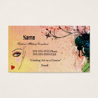feel_like_this_wallpaper, Make-up, Name, 555-555… Visitenkarte