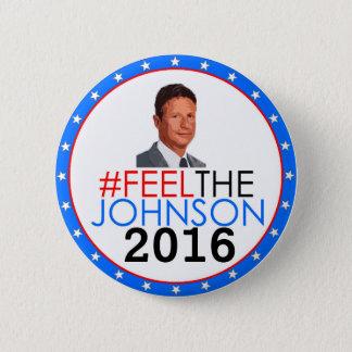 #feelthejohnson Gary Johnson 2016 Runder Button 5,7 Cm