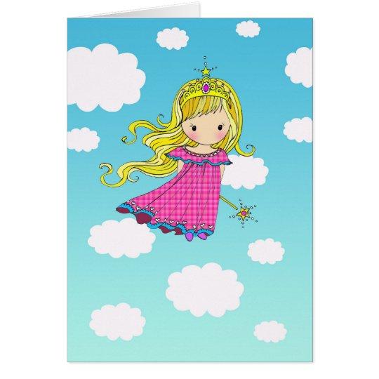 Feenhafte Karte Prinzessin-alles Gute zum