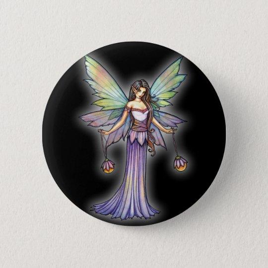 Feenhafte Lichter durch Molly Harrison Runder Button 5,1 Cm
