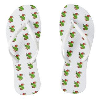 Feenhafter Frosch Flip Flops
