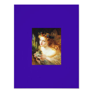 Feenhaftes Prinzessin-Party 10,8 X 14 Cm Einladungskarte