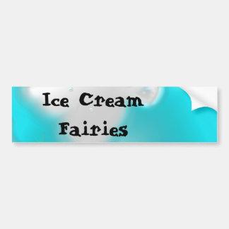 Fées de crème glacée autocollant de voiture