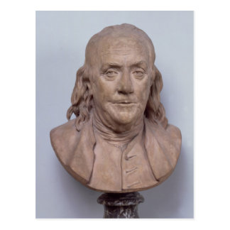Fehlschlag von Benjamin Franklin 1778 Postkarte