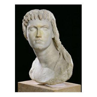 Fehlschlag von Kleopatra II oder ihre Tochter Postkarte