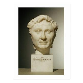 Fehlschlag von Pompey (106-48 BC) c.60 BC (Marmor) Postkarte