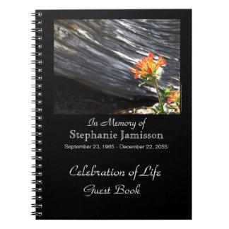 Feier des Leben-Gast-Buches, indischer Malerpinsel Notizblock