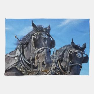 Feierliches Western-Pferdeküchen-Tuch Handtücher