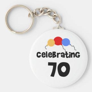 Feiern 70 schlüsselanhänger