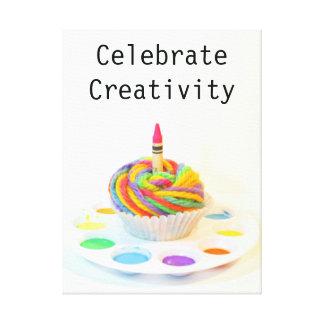 Celebrate Creativity Cupcake