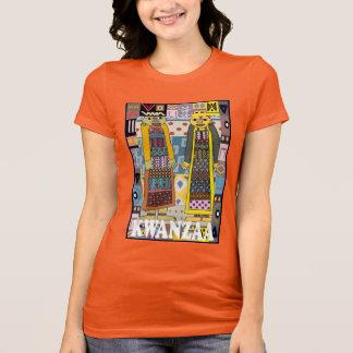 Feiern Sie Kwanzaa, traditionelle Zahlen T-Shirt
