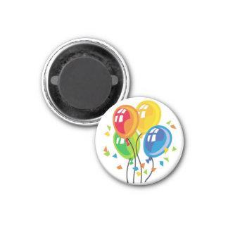 Feiern Sie oder alles- Gute zum Geburtstagmagnet - Runder Magnet 3,2 Cm