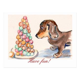 Feiern Sie! Postkarte