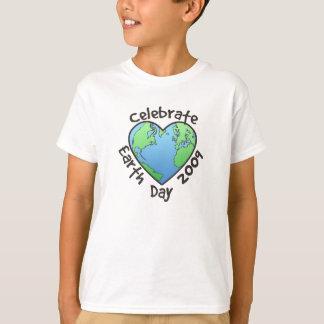 Feiern Sie Tag der Erde 2009 T-Shirt