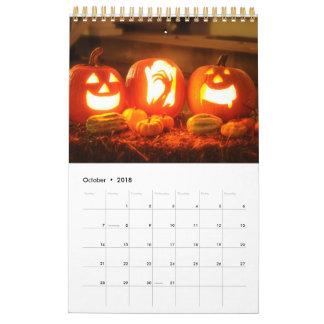 Feiern von Monatsfeiertagen Abreißkalender