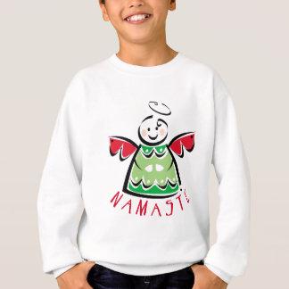 Feiertag Namaste Engel Sweatshirt