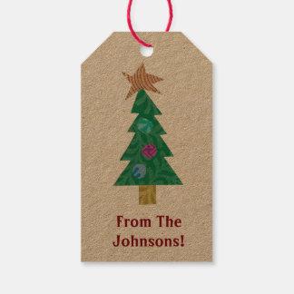 Feiertags-Baum-Geschenk-Umbauten Geschenkanhänger