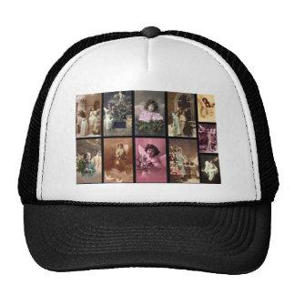 Feiertags-Engels-weißer Hut - kundengerecht Baseball Kappen