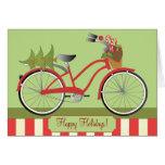 Feiertags-Fahrrad Karte