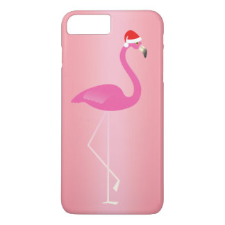Feiertags-Flamingo iPhone 7 in der Rose iPhone 7 Plus Hülle