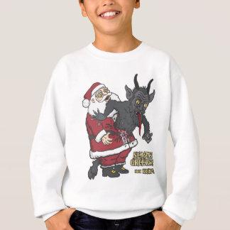 Feiertags-Grüße von Krampus (und von Sankt) Sweatshirt
