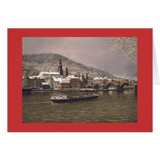 """Feiertags-Karte Pauls McGehee """"Winter in Grußkarte"""