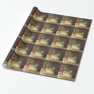 Feiertags-MannesKardinal Geschenkpapier