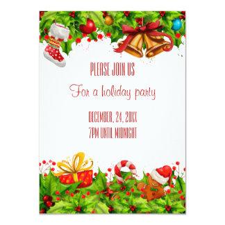 Feiertags-Party Einladung