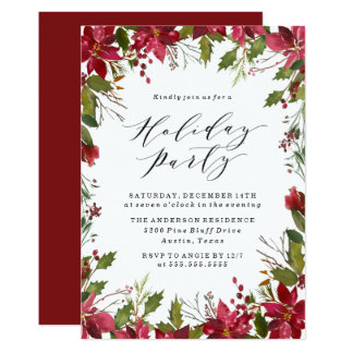 Feiertags-Party Einladung der