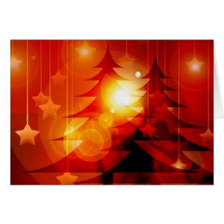 Feiertags-Weihnachtsbaum-Entwurf Karte
