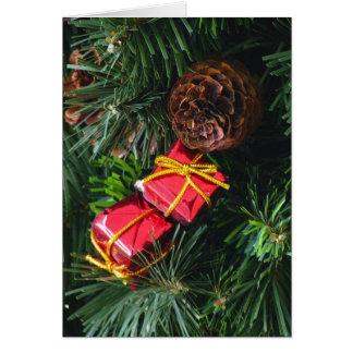 Feiertags-Weihnachtskarte 1 Karte