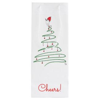 Feiertags-Wein-Tasche (Sie können besonders Geschenktüte Für Weinflaschen
