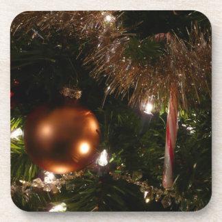 Feiertags-Zuckerstange des Weihnachtsbaum-II und Untersetzer