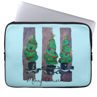 Feiertagsbäume Laptopschutzhülle